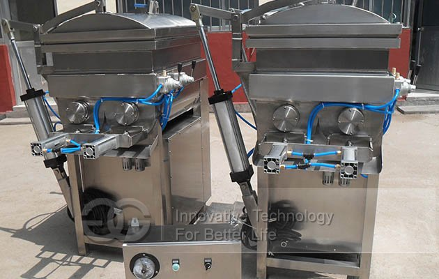 automatic vacuum mixer machine