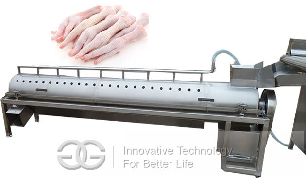 chicken feet peeler machine