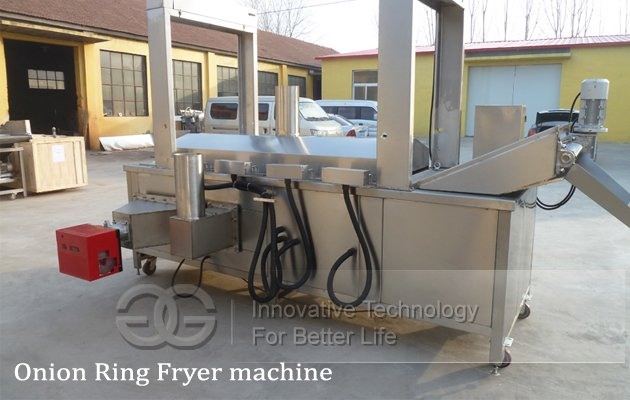 onion ring fryer machine