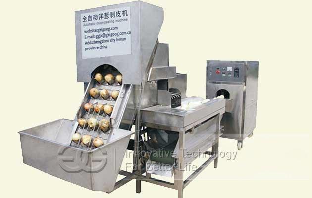 onion peeler machine