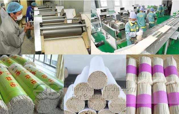 dry egg noodle machine