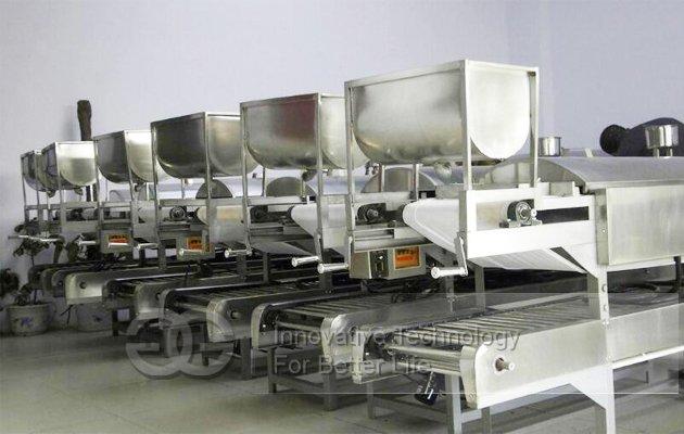 automatic rice pho noodle machine