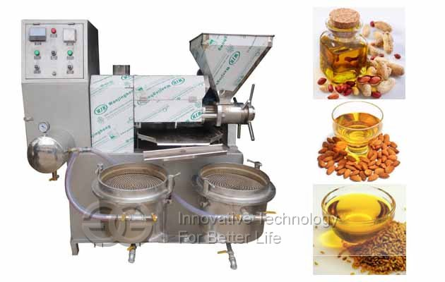 oil press from nuts