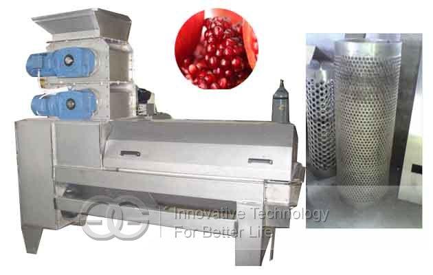 automatic pomegranate separator machine