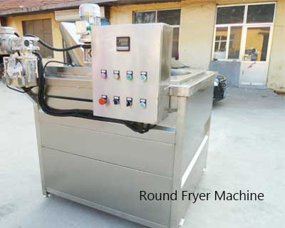 round fryer machine