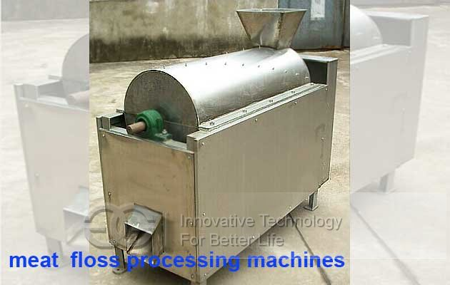 meat floss processing machines