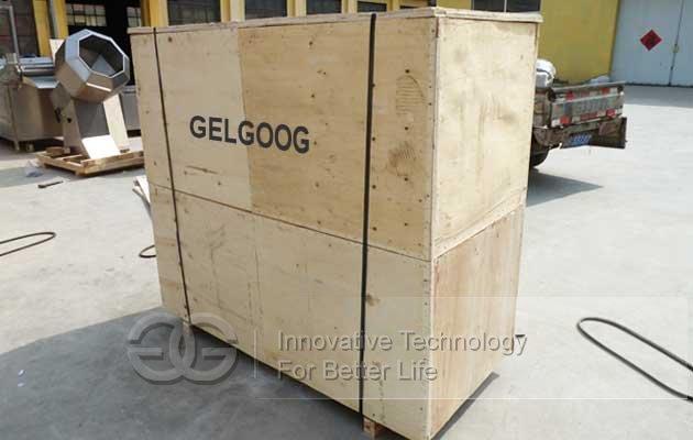 Flavoring machine shipment