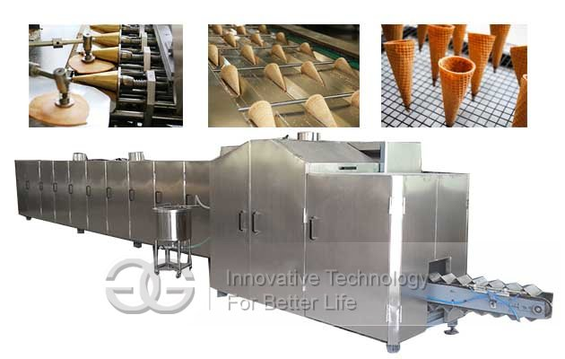 rolled sugar cones making machine
