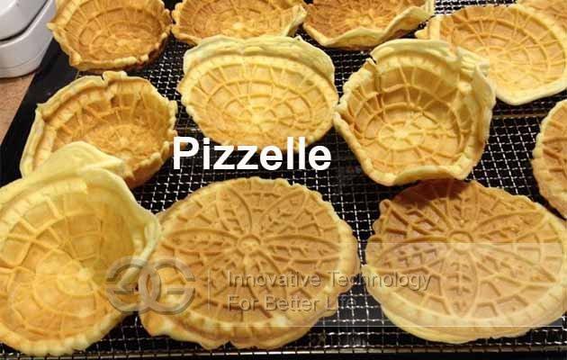 automatic pizzelle maker