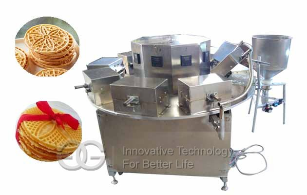pizzelle cookie baking machine