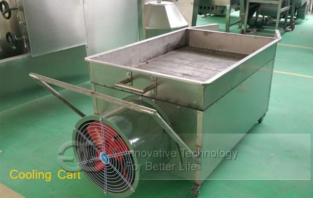 peanut cooling cart