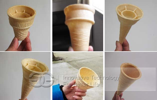 wafer cone machine