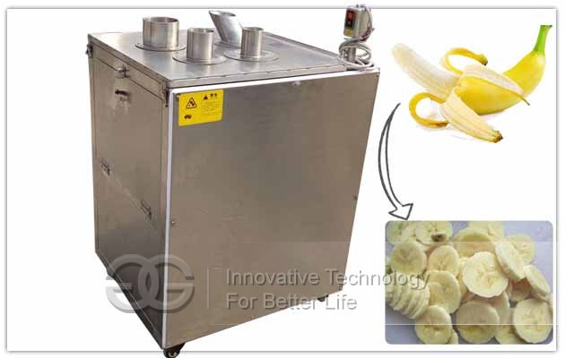 banana plantain slicing machine