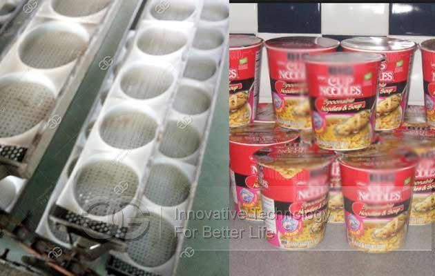 cup noodle production line