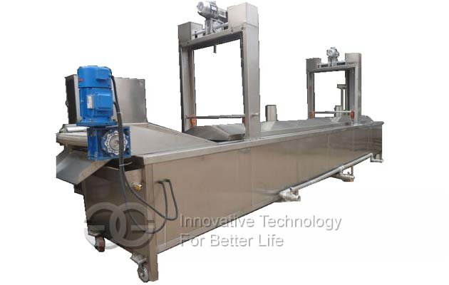 pellet chips fryer machine