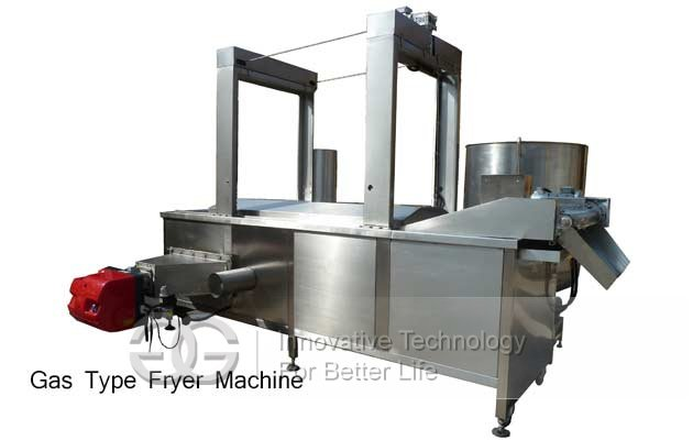 gas fryer machine