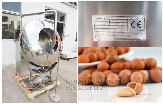peanuts coating equipment