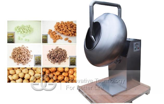 peanuts coater machine