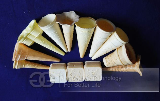 ice cream cone wafer machine