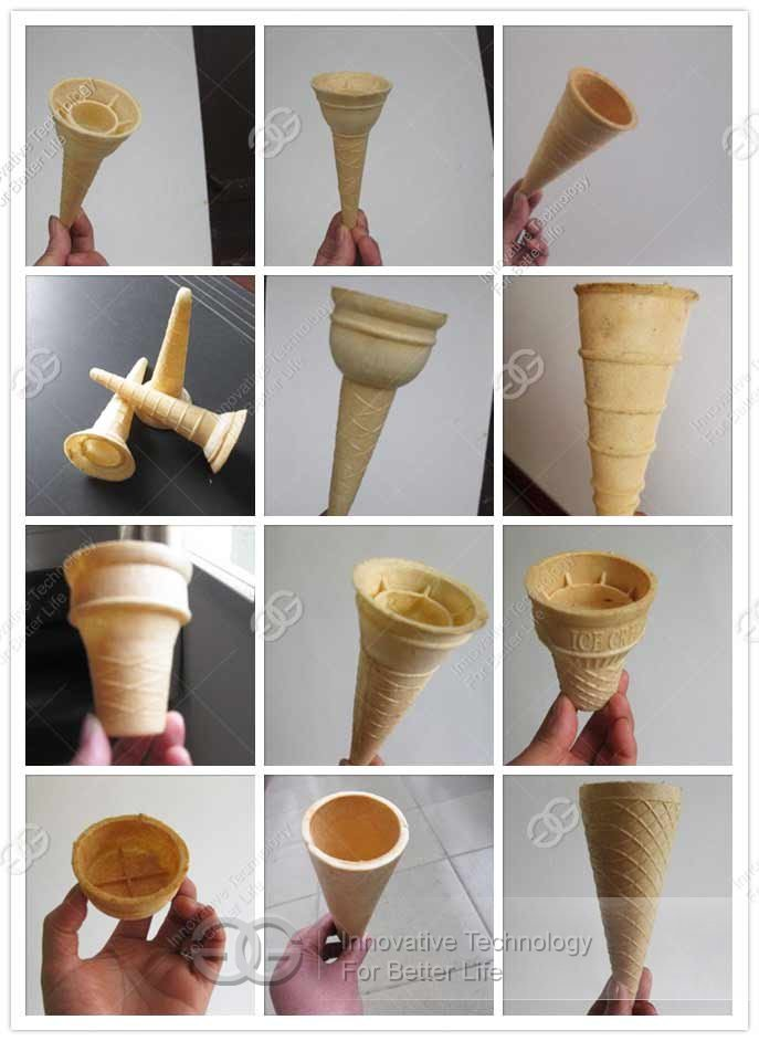 ice cream wafer cone machine