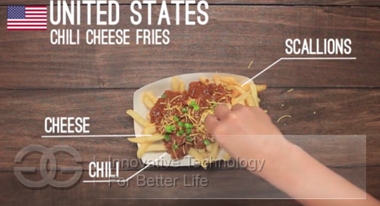 french fries in US