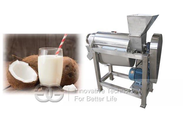coconut milk extractor machine