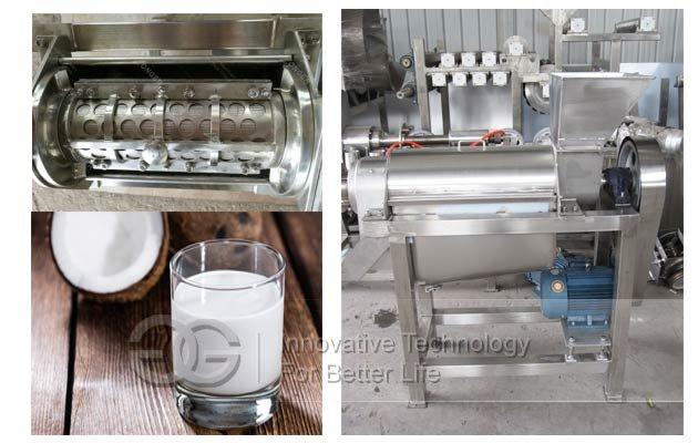coconut milk equipment