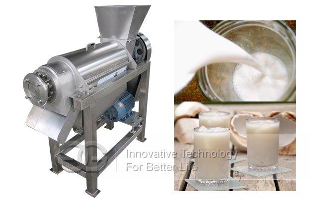 coconut milk grinding machine
