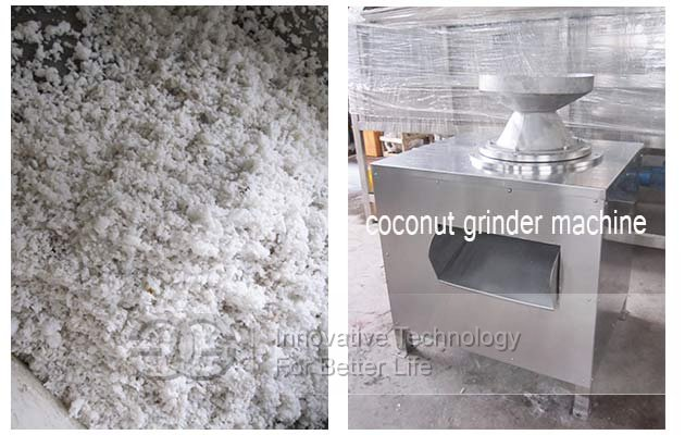 grind coconut machine
