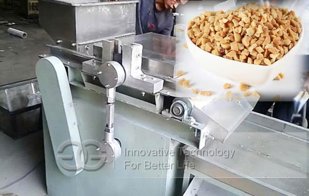 peanut particle cutting machine