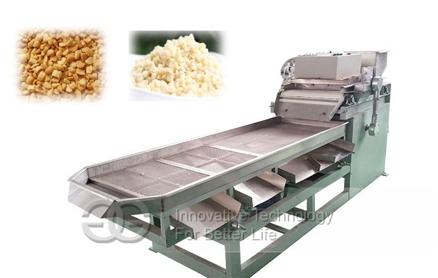 almond pieces cutting machine