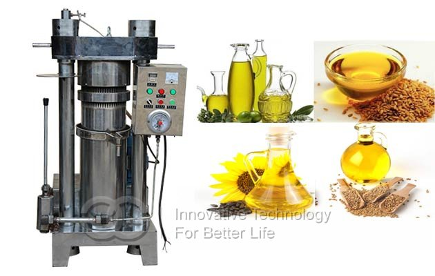automatic nut oil making machine