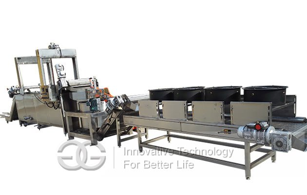 fried beans processing line