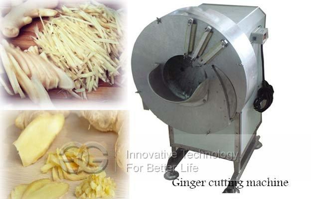 ginger slice cutting machine