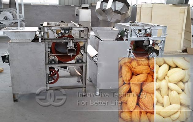 almond skin peeler machine