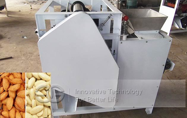 almond badam wet peeling machine