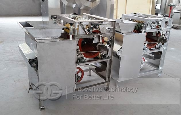 almond badam skin peeler machine