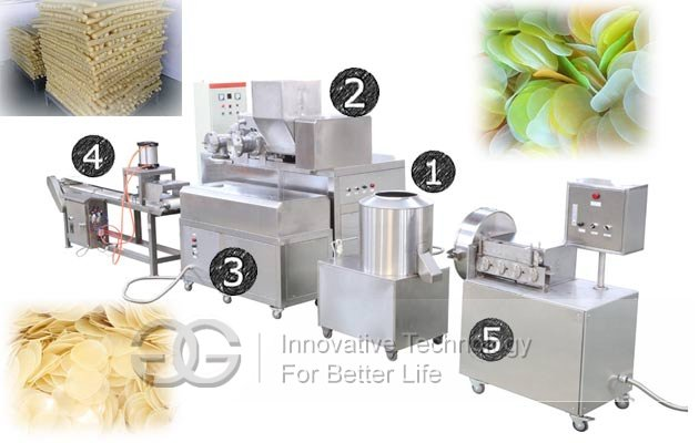 prawn cracker equipment