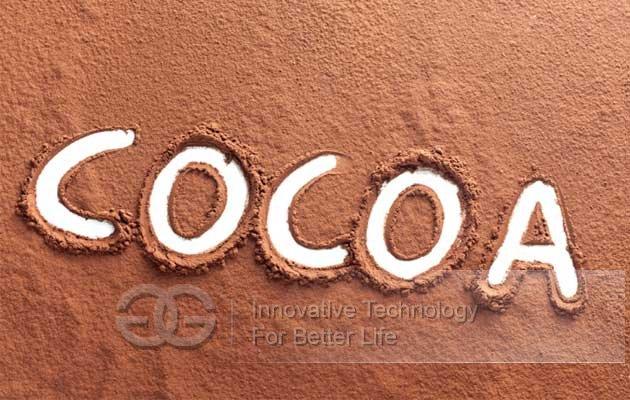 cocoa powder machine