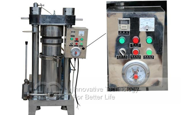cocoa bean oil press