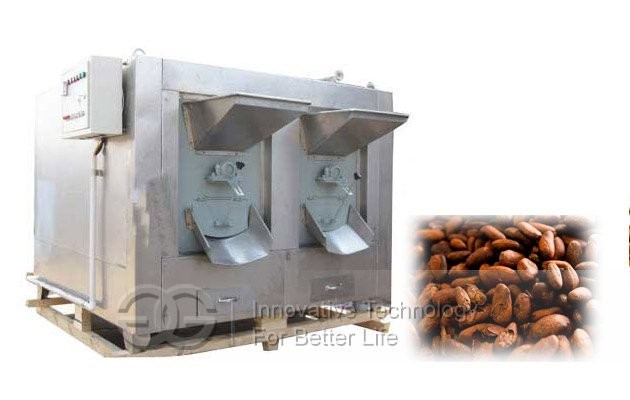 cocoa bean roasting machine