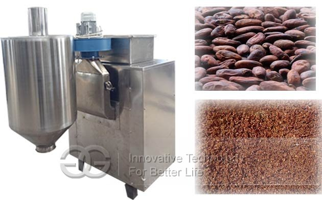 cocoa beans shelling machine
