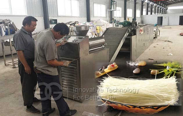 potato starch noodles machine price
