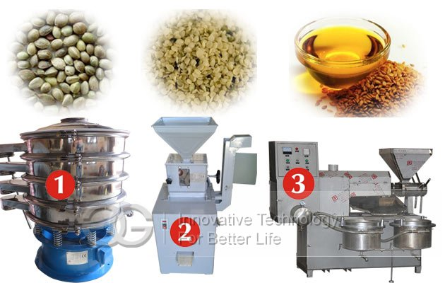 hemp seed oil processing machine