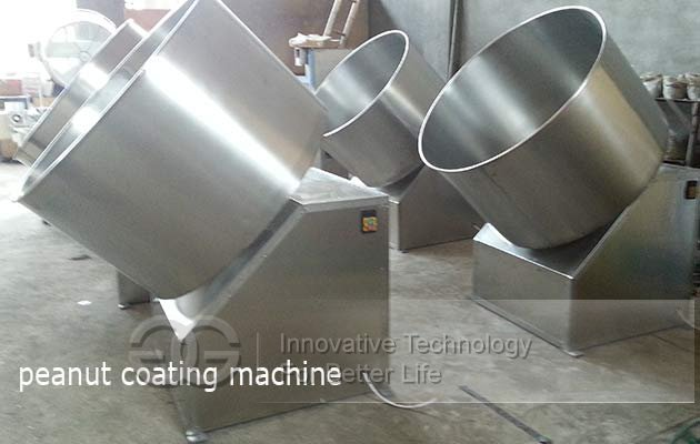 flour coated peanut machine