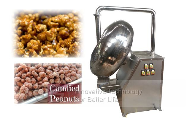 nuts sugar coating machine