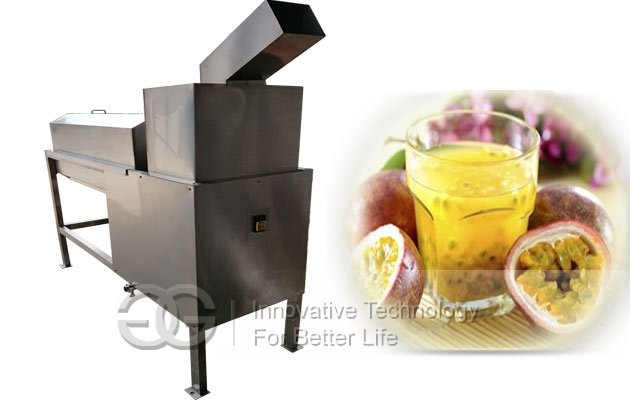passion fruit pulping machine