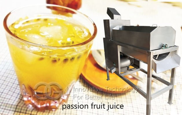 passion fruit juice extracting machine