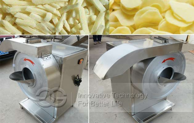 commercial potato french fries machine