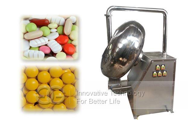 nuts coater machine